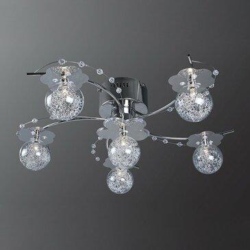 Потолочная люстра Максисвет 1-8113-6-CR-LED Y G4.