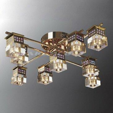 Потолочная люстра Максисвет 1-8231-8+1-FG-LED Y G4.