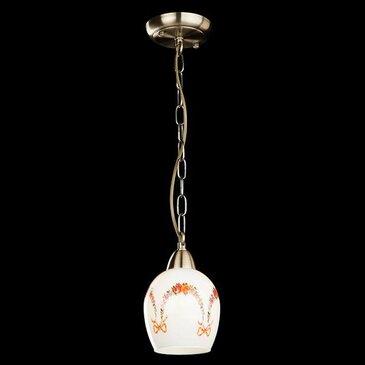 Подвесной светильник Eurosvet 50030/1 античная бронза.